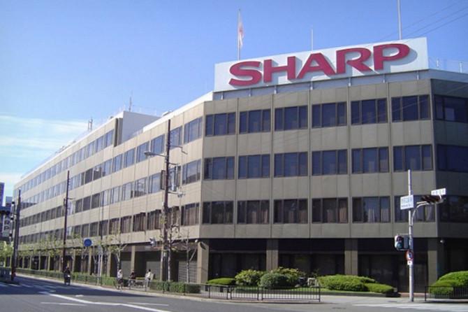ساختمان شارپ در ژاپن