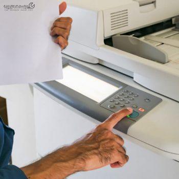 تغییر سایز کاغذ در دستگاه کپی شارپ