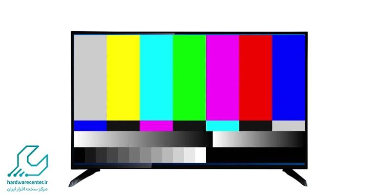 به هم ریختگی رنگها در تلویزیون شارپ